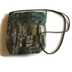 Maruca small crossbody purse- brown tones